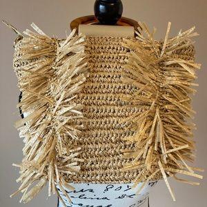 Sondra Roberts Straw Bag